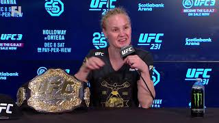 UFC 231: Valentina Shevchenko Post-Fight Press Conference - I Expect to Fight Amanda Nunes Again
