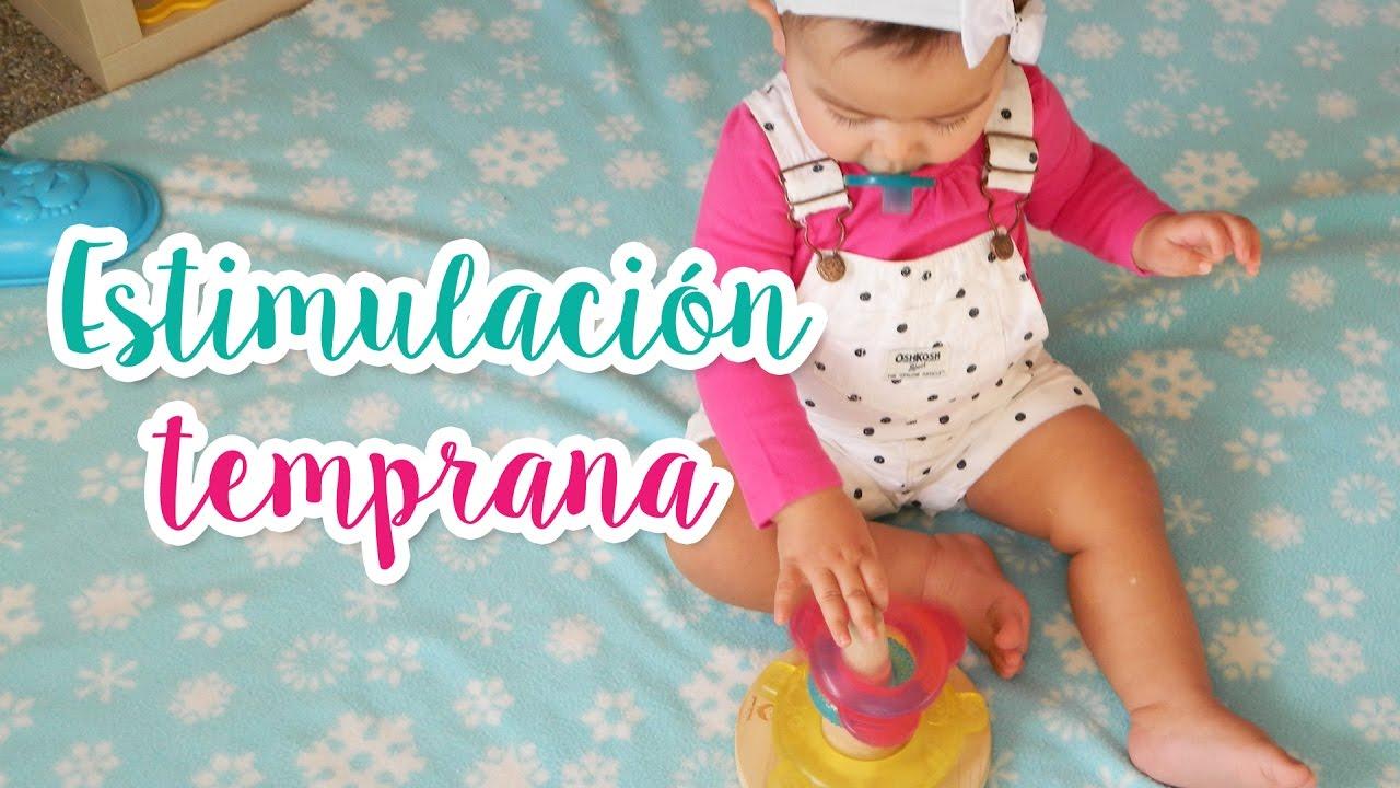 Actividades Para Bebés De 10 A 12 Meses Estimulación Motriz Youtube