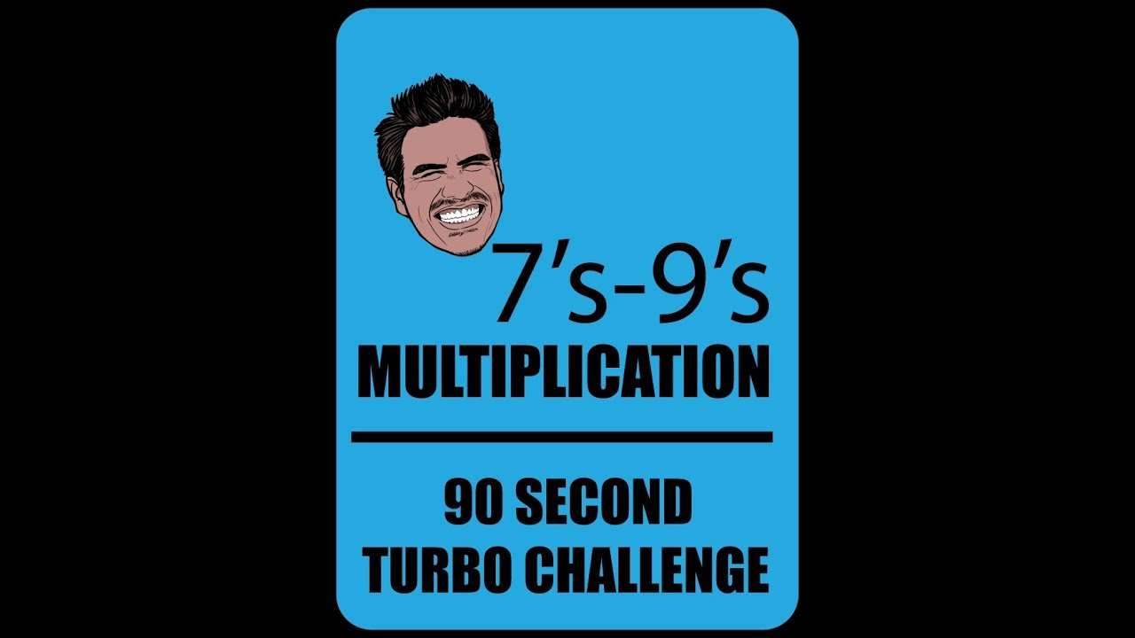 Multiplication Math Facts 7\'s-9\'s   Mister C - YouTube