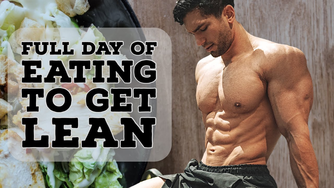 WHAT I EAT TO GET LEAN YEAR ROUND | Full Day Of Eating