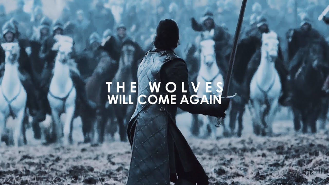 When The Snow Falls And The White Wind Blows Wallpaper House Stark The Wolves Will Come Again Youtube
