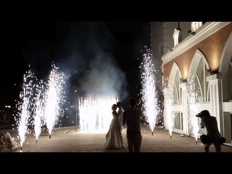 Водопад и фонтаны на Свадьбу