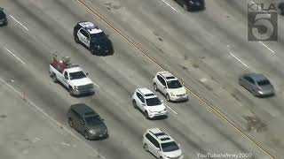 32 Mins and 33 Seconds Of An EPIC Los Angeles Police Chase (ARPIL 2019)