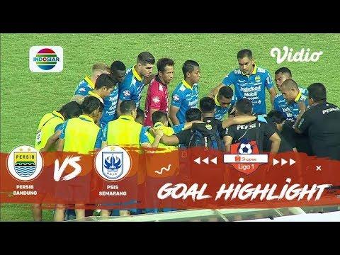 Highlight Persib Bandung vs PSIS Semarang | Maung Bandung Menang Lagi
