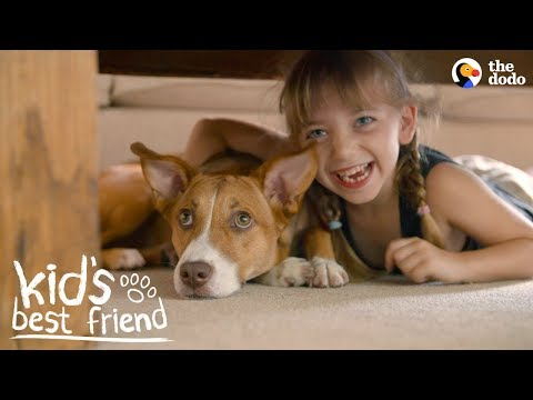 This Girl's Happiest When Her Dog's Happy  | The Dodo Kid's Best Friend