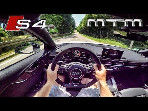 2017 Audi S4 MTM 3.0 TFSI 425 HP POV Test Drive by AutoTopNL