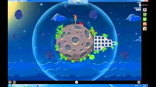 Angry Birds Space in full screen on PC