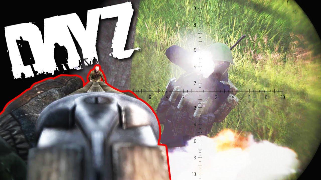 Epic Moments In DayZ - Esseker Massacre!