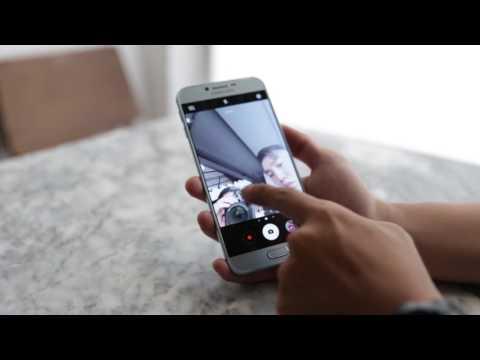 Trên tay Samsung Galaxy A8 2016 phiên bản Xanh lam