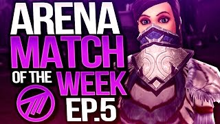 Arena Match of the Week #5 -THE CLEANEST SETUP/KILL - ft Ziqo, Praii & Doomsen