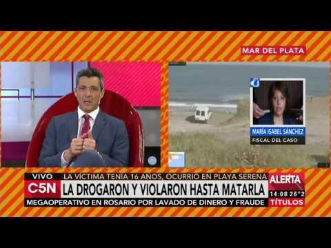 C5N - Mar del Plata: drogaron y violaron a una joven hasta matarla