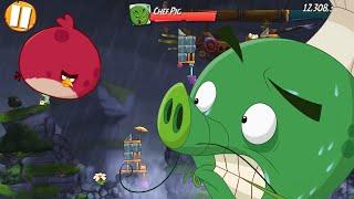 ANGRY BIRDS 2 - KING PIG PANIC DAILY CHALLENGE (Oct/16/2021) screenshot 4
