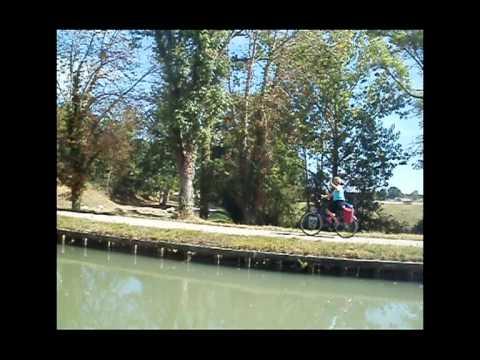 Passage through the Canal des Deux Mers