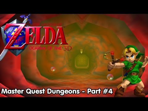 Slim Plays Ocarina of Time 3D (Master Quest Dungeons) - Part 4