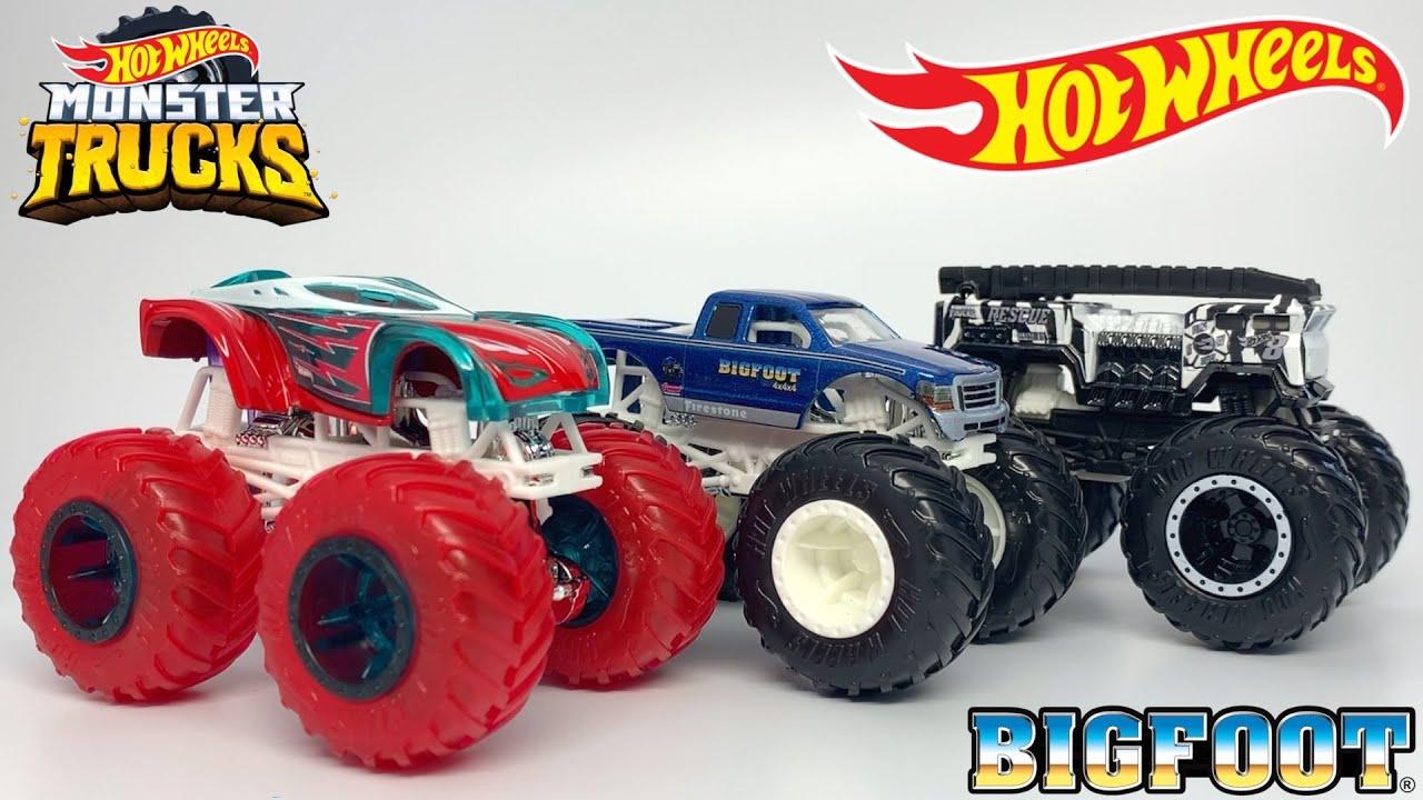 Hot Wheels Monster Trucks Case C 2020 Youtube
