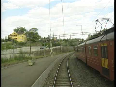 World railways. Norway. Oslo - Honefoss