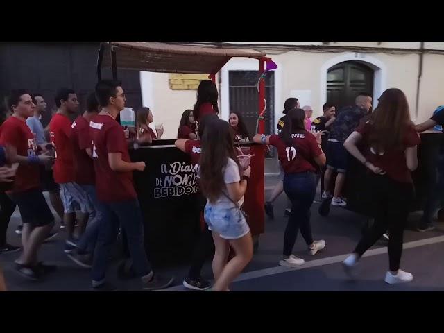 Peña El diario de no has bebido ná - Fiestas del Vino Valdepeñas 2017