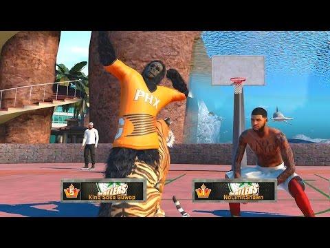 NoLimitShawn X LEGEND 5 King Sosa Guwop & OSN | Sunset Takeover | NBA 2K16 MY PARK