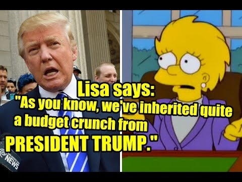 The Simpsons Predicted President Trump in 2000