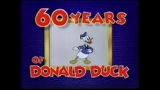 Video Disney's - 60 Years of Donald Duck (1998) 🦆 download MP3, 3GP, MP4, WEBM, AVI, FLV April 2018