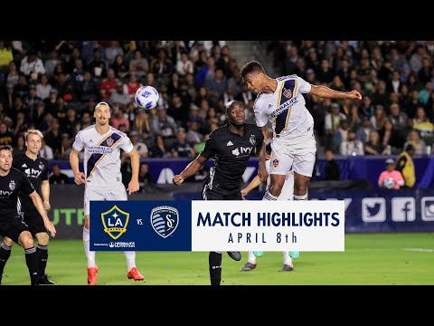 HIGHLIGHTS: LA Galaxy vs. Sporting Kansas City | April 8, 2018