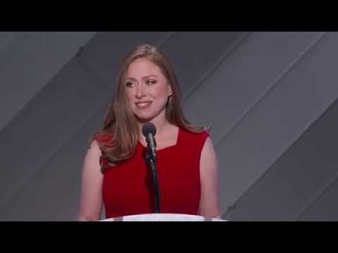 Chelsea Clinton at DNC 2016