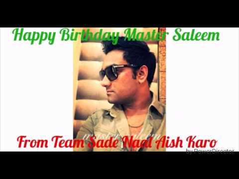 Master saleem on punjabi Radio Sade Naal Aish Karo