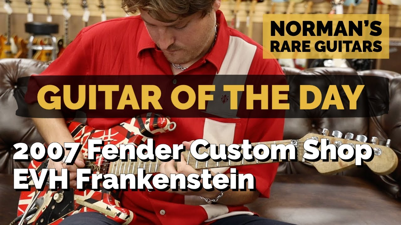 Guitar of the Day: 2007 Fender Custom Shop Eddie Van Halen Frankenstein   Norman's Rare Guitars