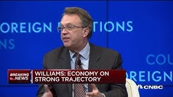 NY Fed President Williams discusses inflation, trade