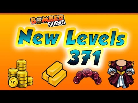 Bomber Friends - Single Player Level 371 ✔️ |New Levels|