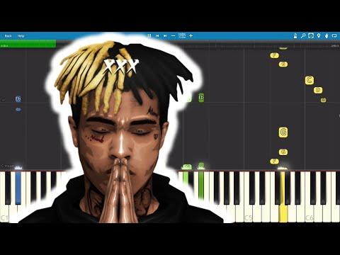 XXXTENTACION - SAD! - Piano Tutorial