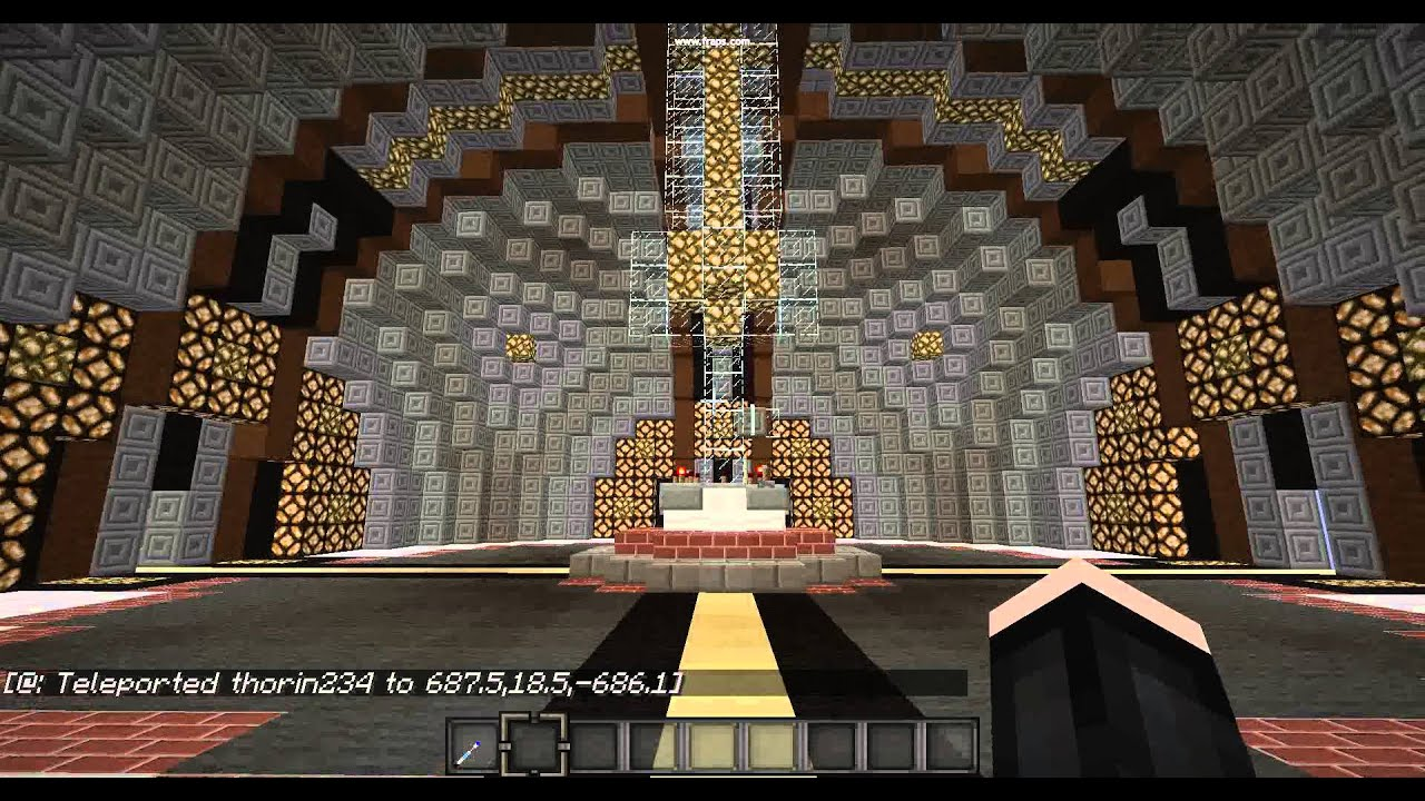 tardis console room based off the doctor who client mod