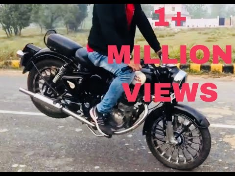 Javed gauri royal Enfield stunt