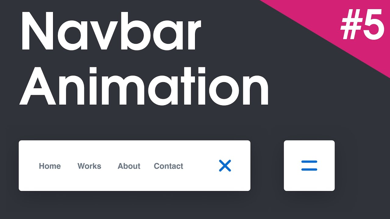 Amazing Navbar CSS Animation   Header Menu   Pure HTML/CSS   CodePen   #5