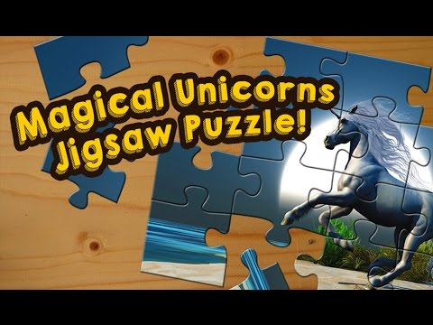 Unicorns Puzzle Game for Kids