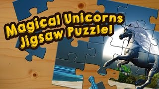 Unicorn Jigsaw Puzzle Game for Kids - App Gameplay Video
