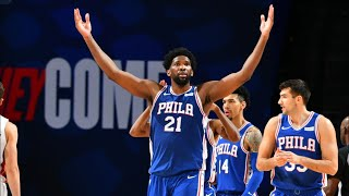 Joel Embiid 45 Points OT vs Heat! Herro 34 Pts! 2020-21 NBA Season