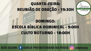 Culto Doutrinário - 29.09.21