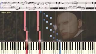 The Phantom Of The Opera (Final) (Ноты и Видеоурок для фортепиано) (piano cover)