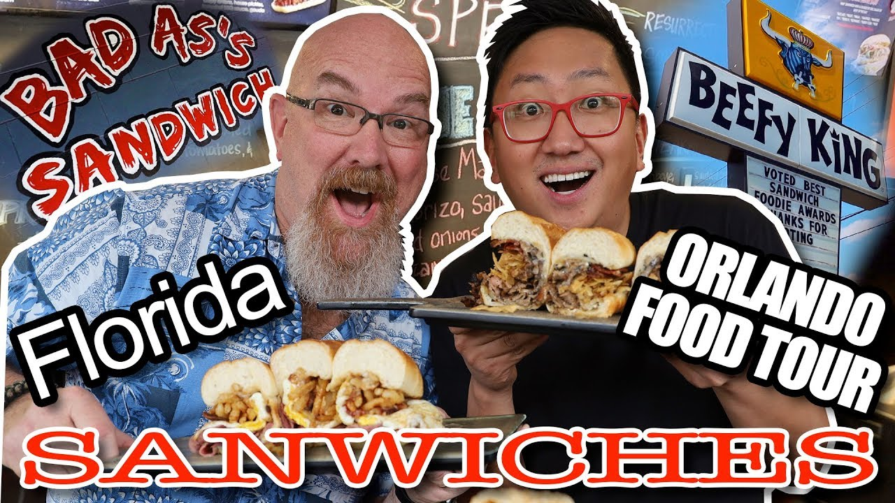 BAD AS'S SANDWICHES & BEEFY KING - JP's Favourite Places in Orlando, Florida