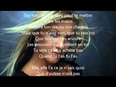 Kate Ryan - Ella, Elle l'a Paroles / Lyrics