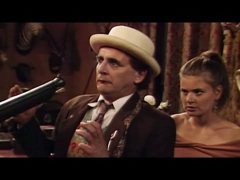 The Doctor And Ace At Gunpoint! | Ghost Light | Doctor Who