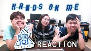 Video 《ไทย Reaction》PRODUCE 101 season2 - Hands on Me | Sahaidok (สหายดอก) download MP3, 3GP, MP4, WEBM, AVI, FLV Januari 2018