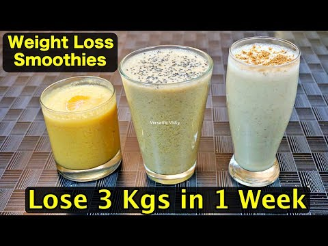 Weight Reduction Smoothies Juice Smoothie Recipes to lose weight