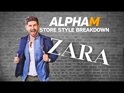 alpha m. Store Style Breakdown   ZARA