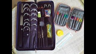 Обзор спиц и крючков  для вязания. Комплект инструментов для рукоделия №2.