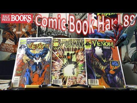 Half Price Books Comic Book Haul 89   Venomized!