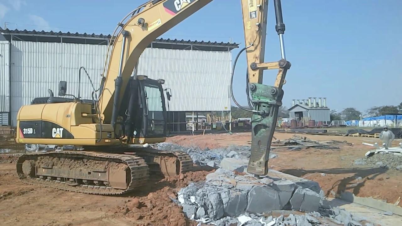Locação de Escavadeira Rompedor Rolo compactador Campinas e Região  #9E762D 1920 1080