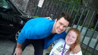 Katy Bowersox Seeing Andy Grammer at the Tour Bus