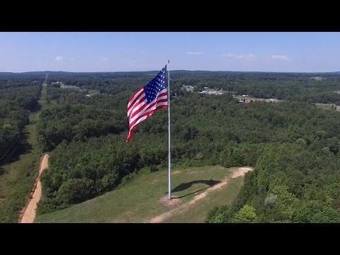 World's Largest Flying American Flag - Gastonia, NC